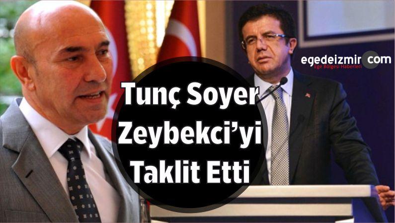 Soyer, Zeybekci'yi Taklit Etti