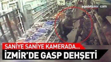 İzmir'de Bir Kişi Markette Bıçaklı Saldırıya Uğradı!