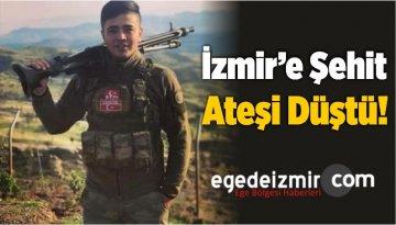 Son Dakika! İzmir'e Şehit Ateşi Düştü!
