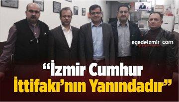 """""""İzmir'deki Evlad-ı Fatihan Cumhur İttifakı'nın Yanındadır"""""""