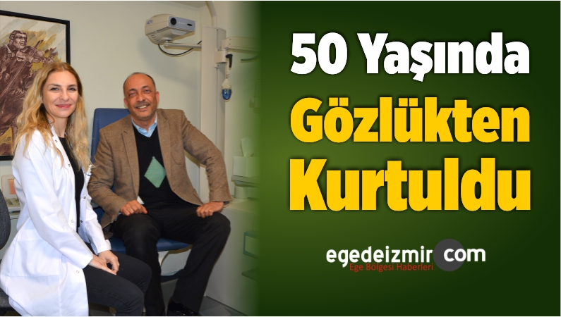 50 Yaşında Gözlükten Kurtuldu