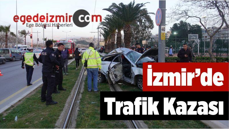 İzmir'de Trafik Kazası: 2 Ölü, 1 Yaralı