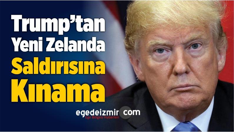Trump'tan Yeni Zelanda Saldırısına Kınama