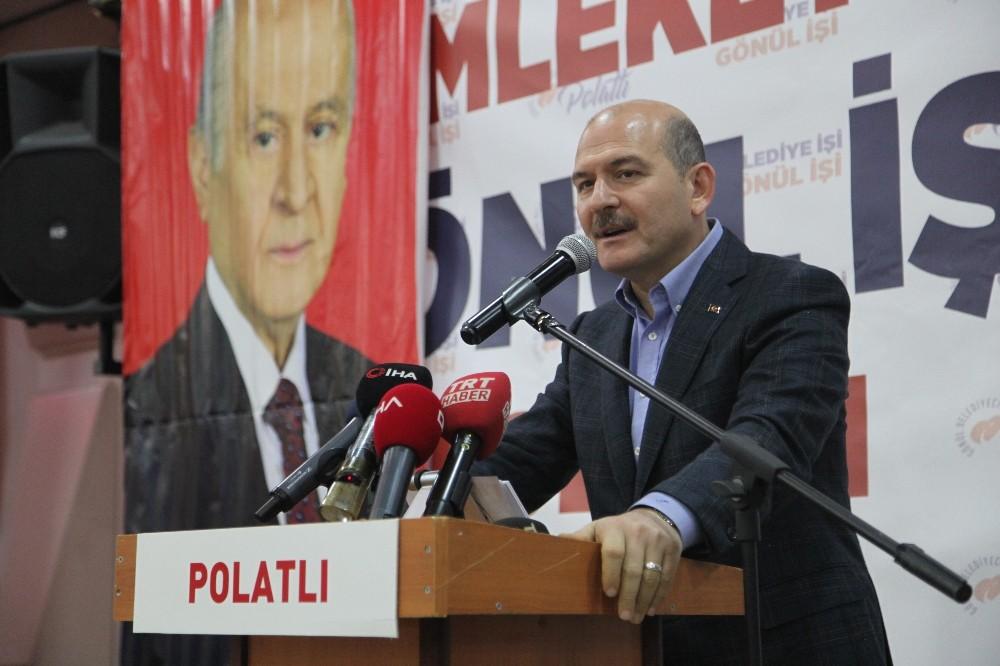 """Bakan Soylu: """"PKK'ya katılan 800 kişi teslim oldu"""""""