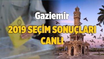 2019 Gaziemir Yerel Seçim Sonuçları ve Oy Oranları