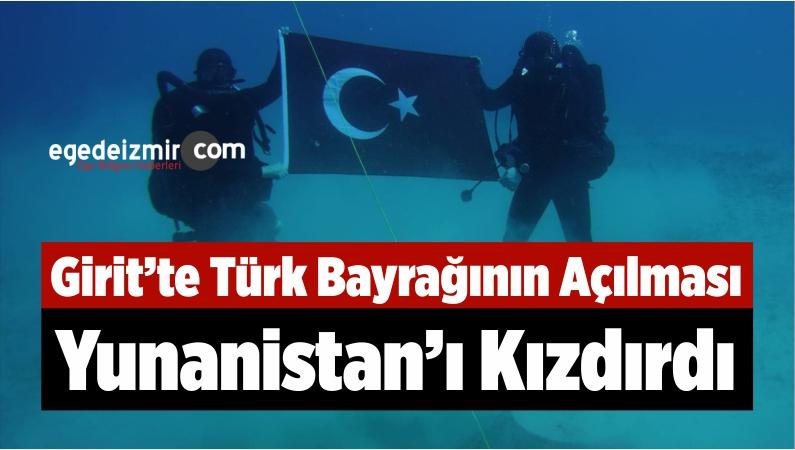 Girit'te Türk Bayrağının Açılması, Yunanistan'ı Kızdırdı