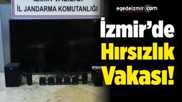 İzmir'de Hırsızlık Olayına Karıştığı İddiasıyla Bir Kişi Gözaltına Alındı