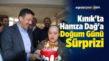 Kınık'ta Hamza Dağ'a Doğum Günü Sürprizi