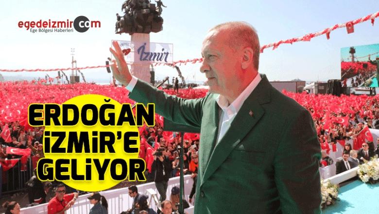 Başkan Erdoğan İzmir'e Bir Kez Daha Gelecek