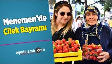 Menemen'de Çilek Bayramı