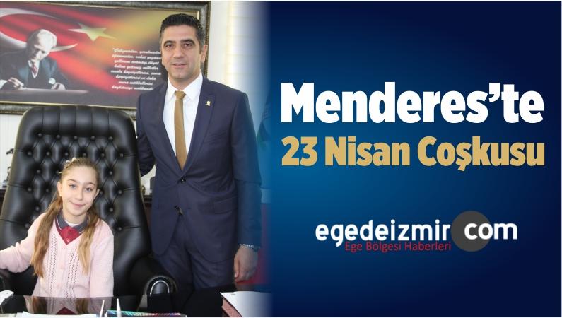 Menderes'te 23 Nisan Coşkusu
