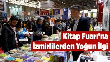 Kitap Fuarı'na İzmirlilerden Yoğun İlgi