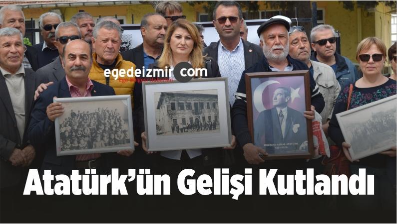 Atatürk'ün Aliağa'ya Gelişi Kutlandı