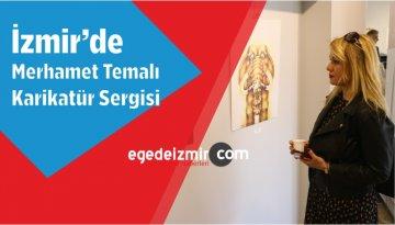 İzmir'de Merhamet Temalı Karikatür Sergisi