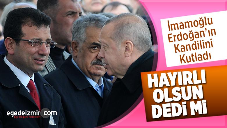 Erdoğan ve İmamoğlu Bugün Cenaze Töreninde Karşılaştı