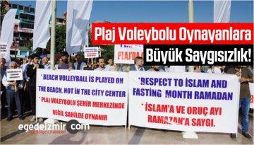 Plaj Voleybolu Oynayanlara Büyük Saygısızlık!