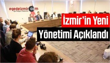 AK Parti İzmir'in Yeni Yönetimi Açıklandı
