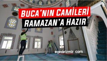 Buca'nın Camileri Ramazan'a Hazır
