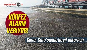 İzmir Körfezi'ndeki Kirlilik Yine S.O.S Vermeye Başladı