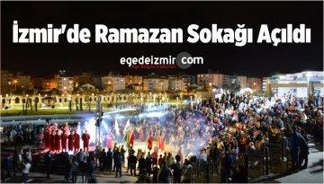 İzmir'de Ramazan Sokağı Açıldı