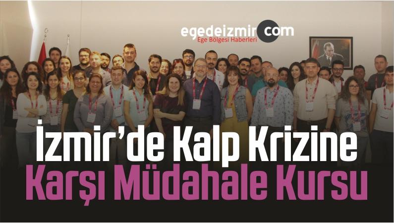 İzmir'de Kalp Krizine Karşı Müdahale Kursu