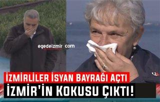İzmir'in Kokusu Çıktı! İzmirliler Kokuya Karşı İsyan Bayrağı Açtı
