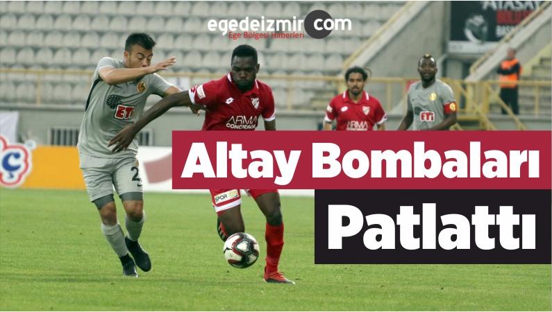 Altay Bombaları Patlattı