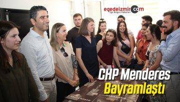 CHP Menderes Bayramlaştı