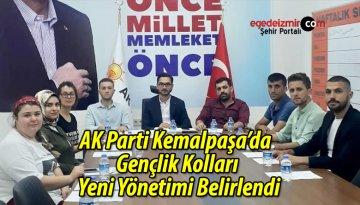 AK Parti Kemalpaşa'da Gençlik Kolları Yeni Yönetimi Belirlendi