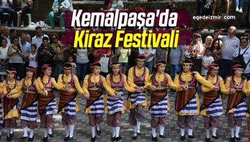 Kemalpaşa'da Kiraz Festivali Yapıldı
