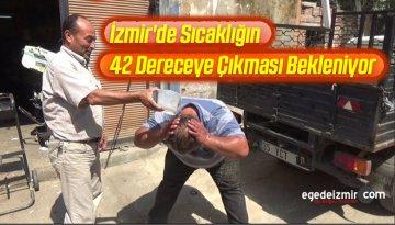 İzmir'de 42 Dereceye Çıkması Beklenen Sıcaklara Karşı Uyarı