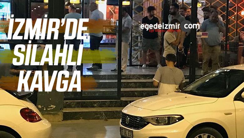 İzmir'de Silahlı Kavga