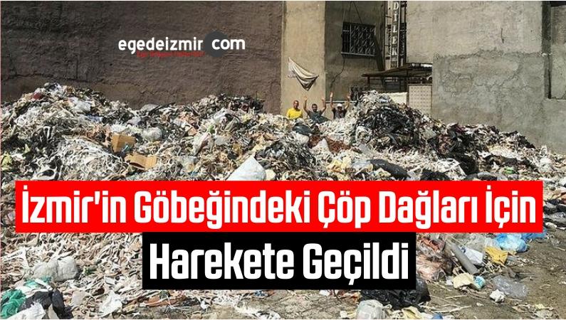 İzmir'in Göbeğindeki Çöp Dağları İçin Harekete Geçildi