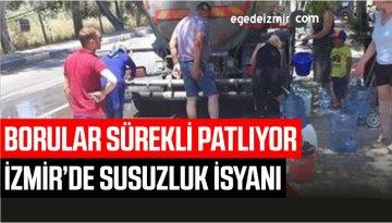 İzmir Seferihisar'da Susuzluk İsyanı