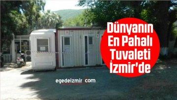 Dünyanın En Pahalı Tuvaleti İzmir'de