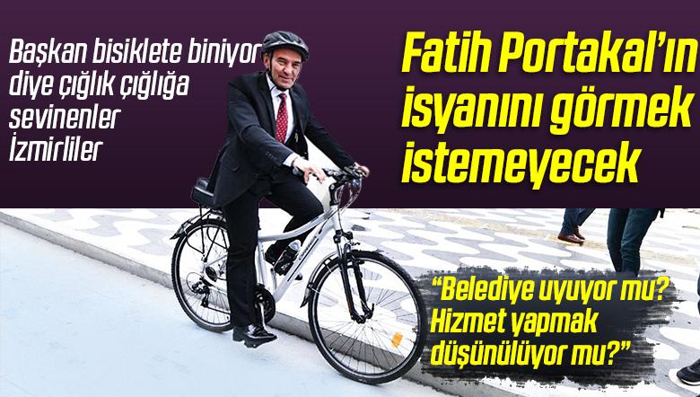 İzmir'deki Bakımsız Yollar Fatih Portakal'ı Kızdırdı