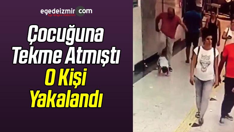 Çocuğa Tekme Atmıştı O Kişi Yakalandı