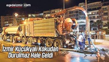 İzmir Küçükyalı Kokudan Durulmaz Hale Geldi