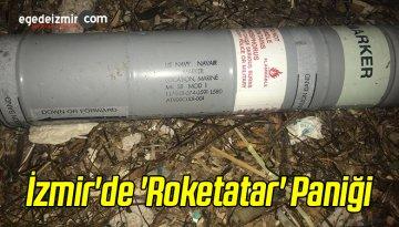 İzmir'de 'Roketatar' Paniği