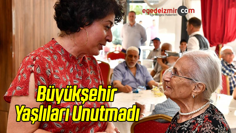 Büyükşehir Yaşlıları Unutmadı