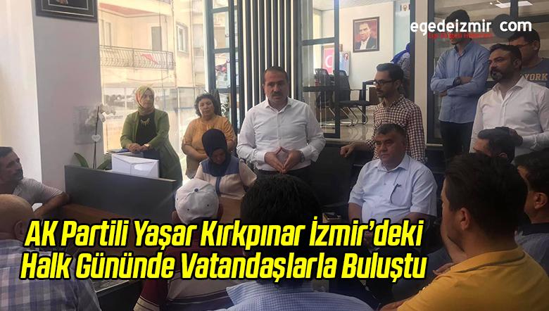 AK Partili Kırkpınar Halk Gününde Vatandaşlarla Buluştu