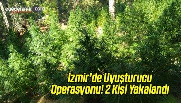 İzmir'de Uyuşturucu Operasyonu! 2 Kişi Yakalandı