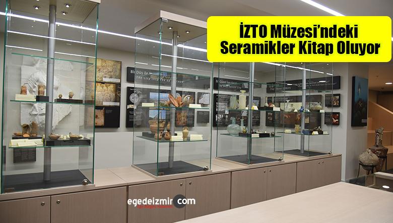 İZTO Müzesi'ndeki Seramikler Kitap Oluyor
