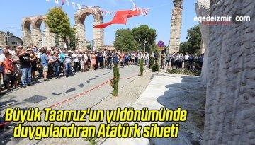 Atatürk'ün Siluetini Gören Herkes Duygulandı