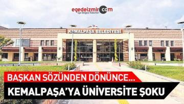 Kemalpaşa'ya Üniversite Şoku