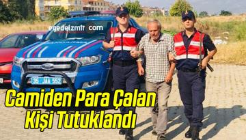 Camiden Para Çalan Kişi Tutuklandı