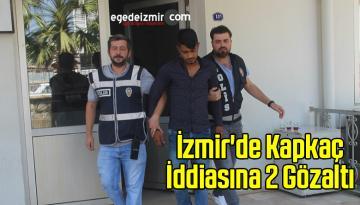 İzmir'de Kapkaç İddiasına 2 Gözaltı