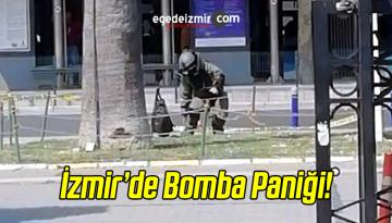 İzmir Panik Anları! Şüpheli Çanta…