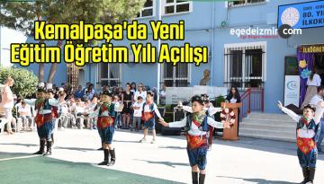 Kemalpaşa'da Yeni Eğitim Öğretim Yılı Açılışı