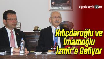Kılıçdaroğlu İmamoğlu ile Birlikte İzmir'e Geliyor